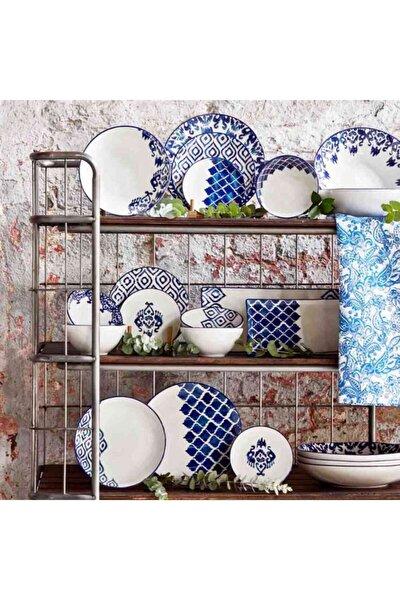 Blue Tile 24 Parça 6 Kişilik Yemek Takımı