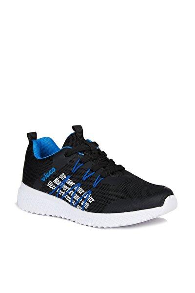 Active Unisex Çocuk Siyah Spor Ayakkabı
