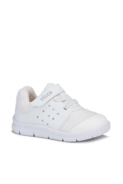Mario Unisex Bebe Beyaz Spor Ayakkabı