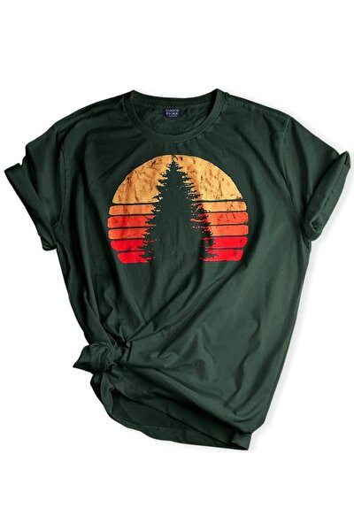 Store Unisex Baskılı Tshirt Outdoor Slim/fit Tişört