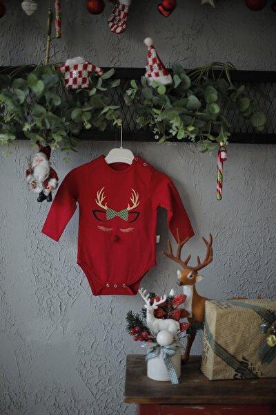 Kız Bebek Kırmızı Body