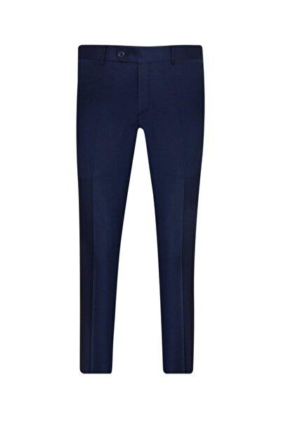 Slim Fit Lacivert Erkek Kumaş Pantolon