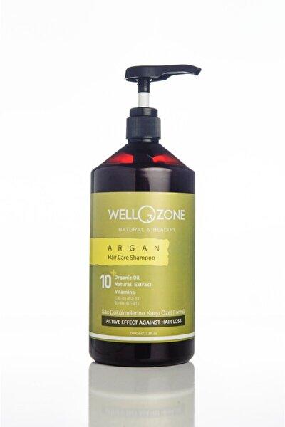 Tuzsuz Parabensiz Şampuan Ozonlu Organik Sawpalmetto Etkili Argan Wellozone 1000ml