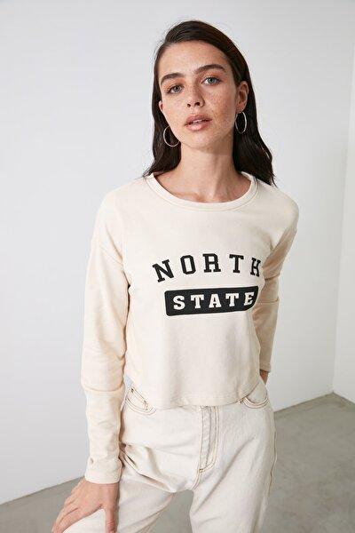 Taş Örme Sweatshirt TWOAW21SW1583