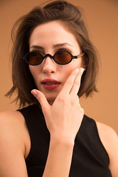 Kadın Siyah Baraque Matt Güneş Gözlüğü