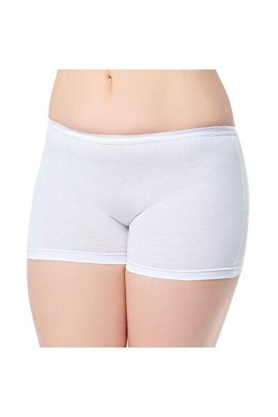 Kadın Beyaz  Pantolon Külot 3'lü