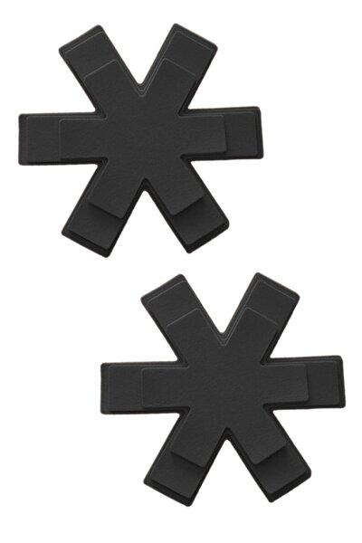 12'li Siyah Keçe Tava Tencere Koruyucu