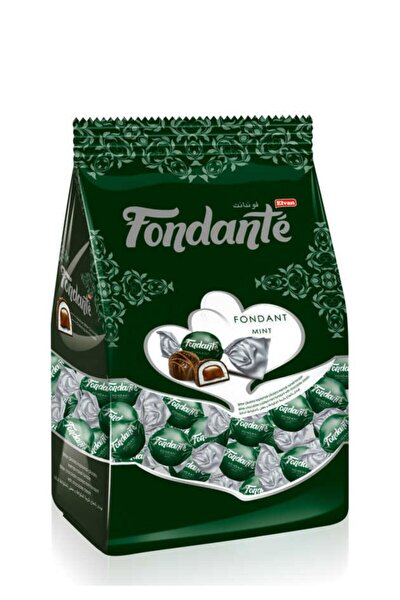 Fondante Çikolata Dolgulu Naneli 500 Gr. (1 Poşet)