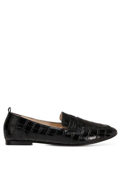 LEFUR2 Siyah Kadın Loafer Ayakkabı 101028719