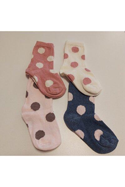 Kız Çocuk 4 Lü Soket Çorap