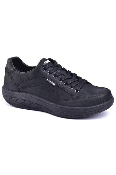 Crazy Deri Siyah Ayakkabı G0781cs