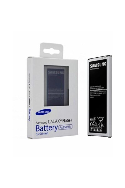 Galaxy Note 4 Batarya Pil Orjinal