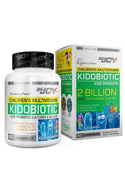 Kidobiotic Kids Probiotic 60 Çiğneme Tableti