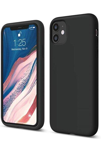 Iphone 11 Lansman Kılıf Içi Kadife Siyah