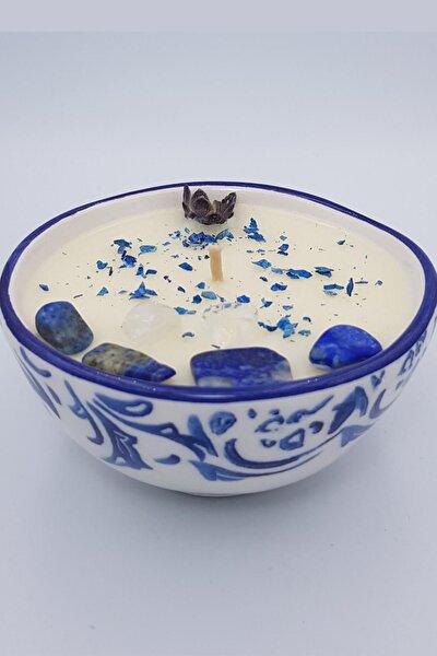 Ares 160 Ml / Lapis Lazuli Enerji Taşlı / Soya-coconut Mumu / Jasminum (yasemin)