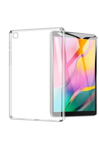 "Samsung Galaxy Tab A7 T500 T505 Kılıf 10.4"" (2020) Premium Tpu Şeffaf Esnek Silikon Tablet Kılıf"