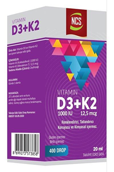Vitamin D3+K2 20 ml