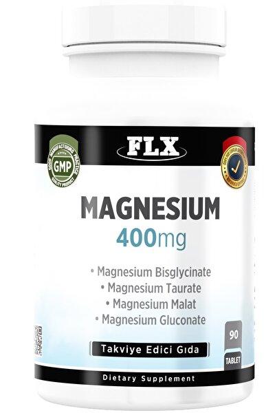 Magnezyum Elementleri Magnesium Bisglisinat Malat Taurat Glukonat 90 Tablet