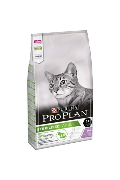 Tavuklu Hindili Kısırlaştırılmış Kuru Kedi Maması 3 kg