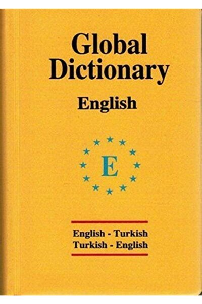 Global Dictionary English-turkish / Turkish-english (ingilizce Global Sözlük)