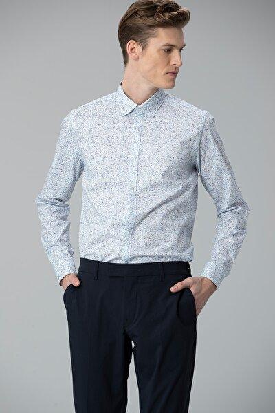 Debra Smart Gömlek Slim Fit Mavi