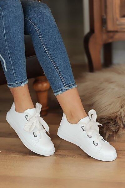 Beyaz Kadın Casual Ayakkabı A320-20