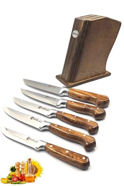 Sürmene 6'lı Bıçak Seti Standlı
