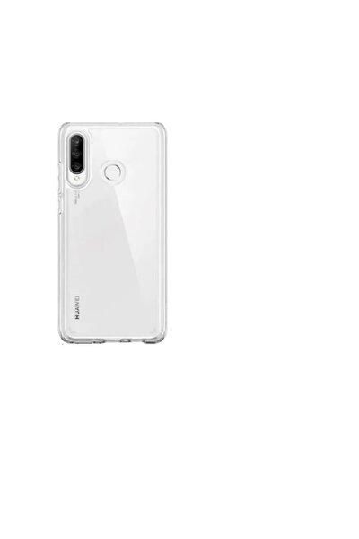 Huawei P30 Lite Uyumlu Tıpalı Şeffaf Silikon Kılıf