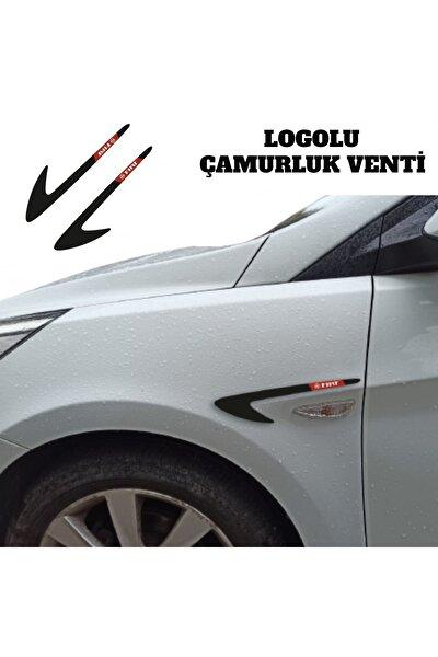 Fiat Linea Çamurluk Venti Parlak Siyah (logolu)