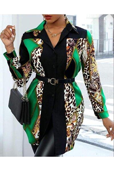 Kadın Yeşil Kısa Elbise