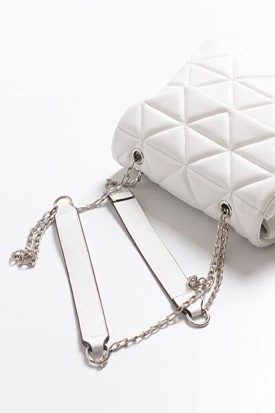 Melany Beyaz Çanta