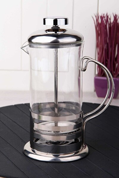 Cam Üzeri Çelik Kaplama Lüx 350Ml French Press