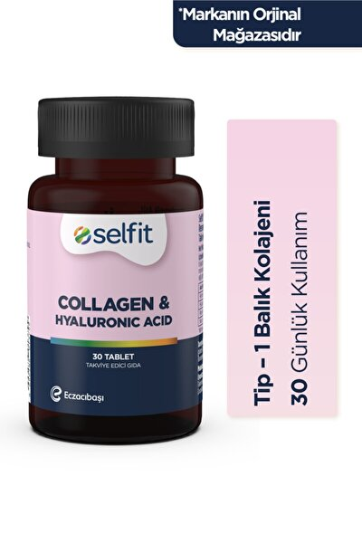 Collagen & Hyaluronic Acid 30 Tablet