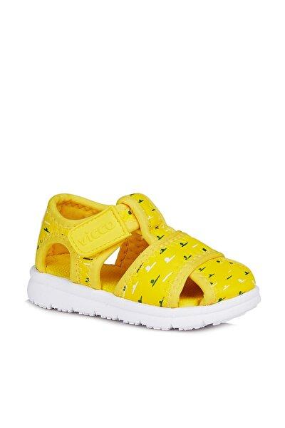 Bumba Unisex Çocuk Sarı Sandalet