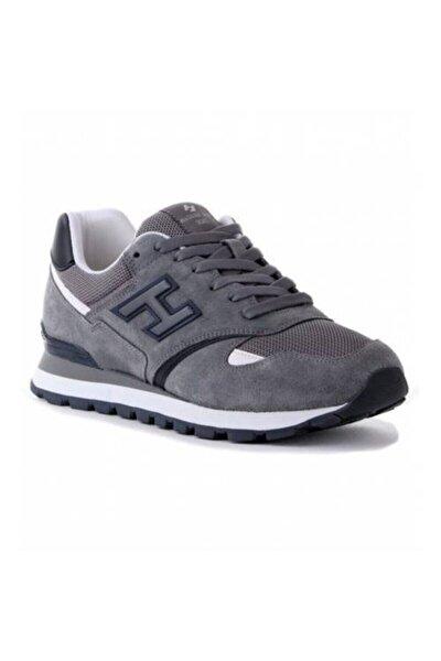 Unisex Gri Bağcıklıc Spor Ayakkabı Almera 20355-m