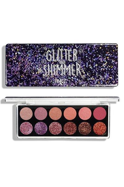 Glitter&shimmer Far Paleti - Reddish