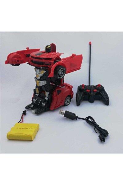 Uzaktan Kumandalı Robota Dönüşen Araba