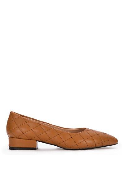 Kadın Taba Naturel Babet ve Düz Ayakkabı