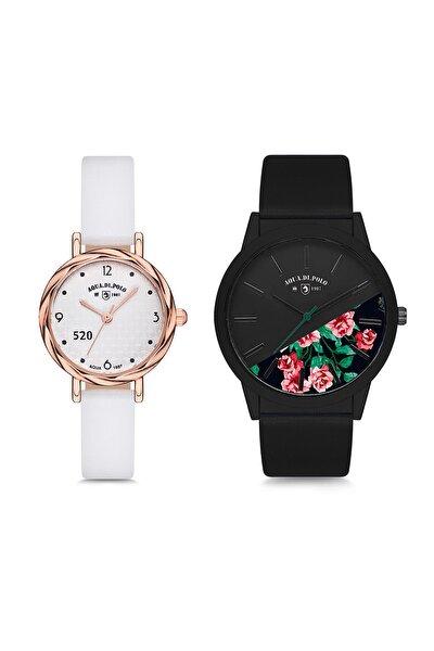 Aynı Butikte 2. Ürün 1 TL Çok Sevilen Saat Seti Kadın Stwa005501
