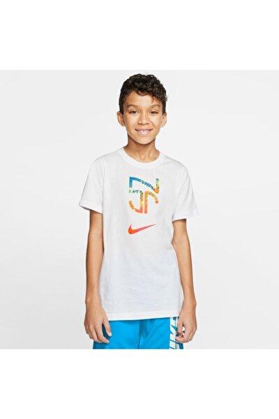 Erkek Çocuk Beyaz Neymar Jr Tee Hero T-Shirt Cd0174-100