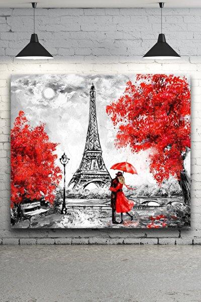 - Fransa, Eyfel Kulesi Yağlı Boya Kanvas Tablo