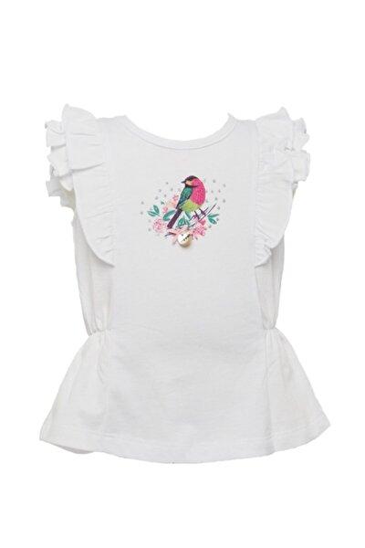 Kız Çocuk Beyaz T-Shirt 81M2PNR54
