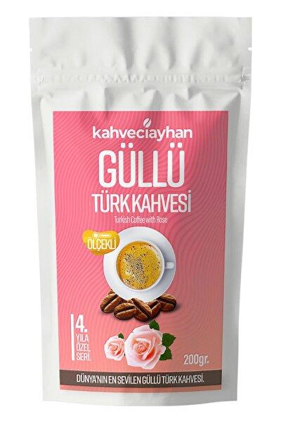 Güllü Türk Kahvesi 200 gr