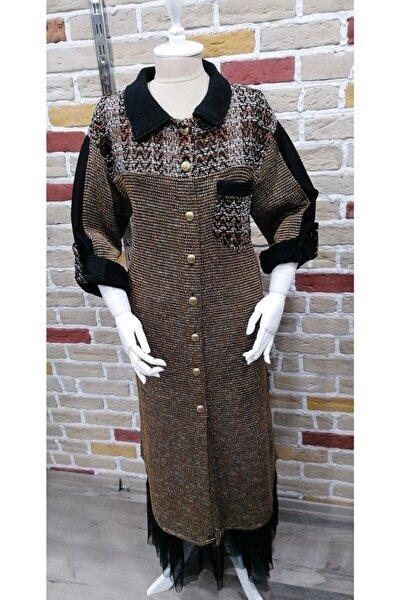 Kadın Kahverengi Elbise