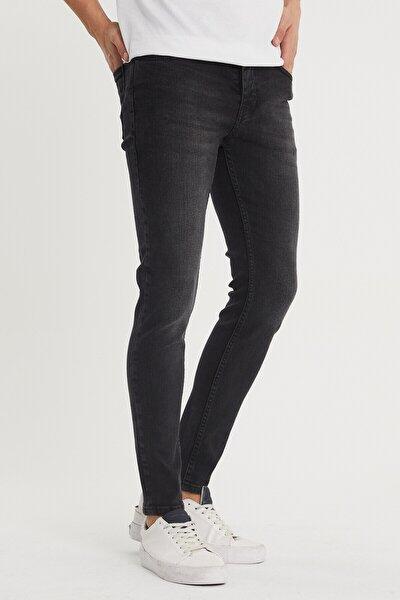 Erkek Gri Slim Fit Jean Pantolon 1kxe5-44355-03