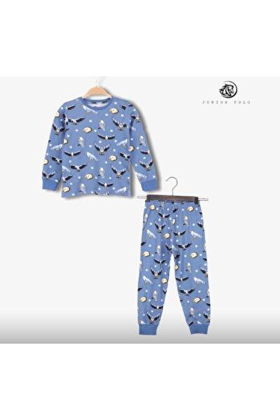Kartal Baskılı Pijama Takımı