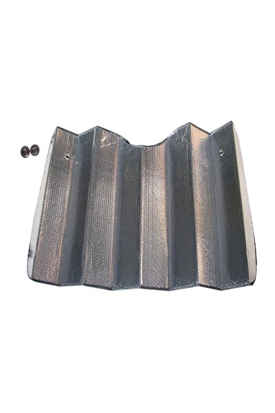Metalize Köpüklü Ön Cam Araç Güneşliği 70x150 Cm