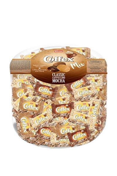 Coffex Mix (kahve-cappuccino-mocha) 1000gr  (1 Silindir Kutu
