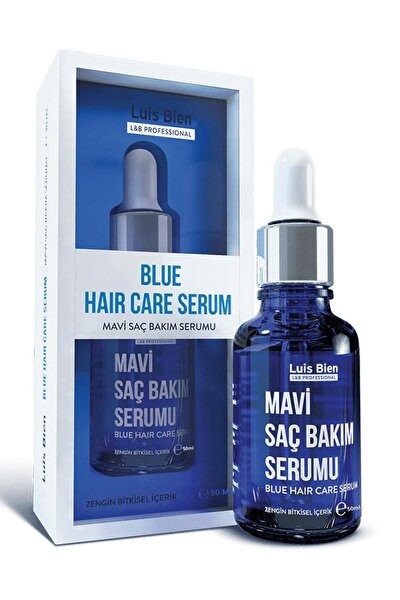 Mavi Saç Serumu - Losyonu 50 ml