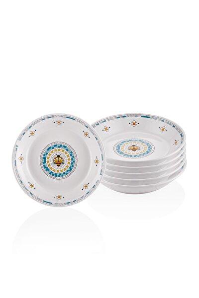Patio Yemek Tabağı - 6lı Set 20 Cm